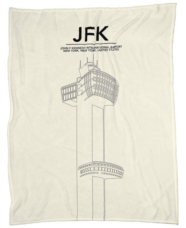 JFK New York Tower plaid