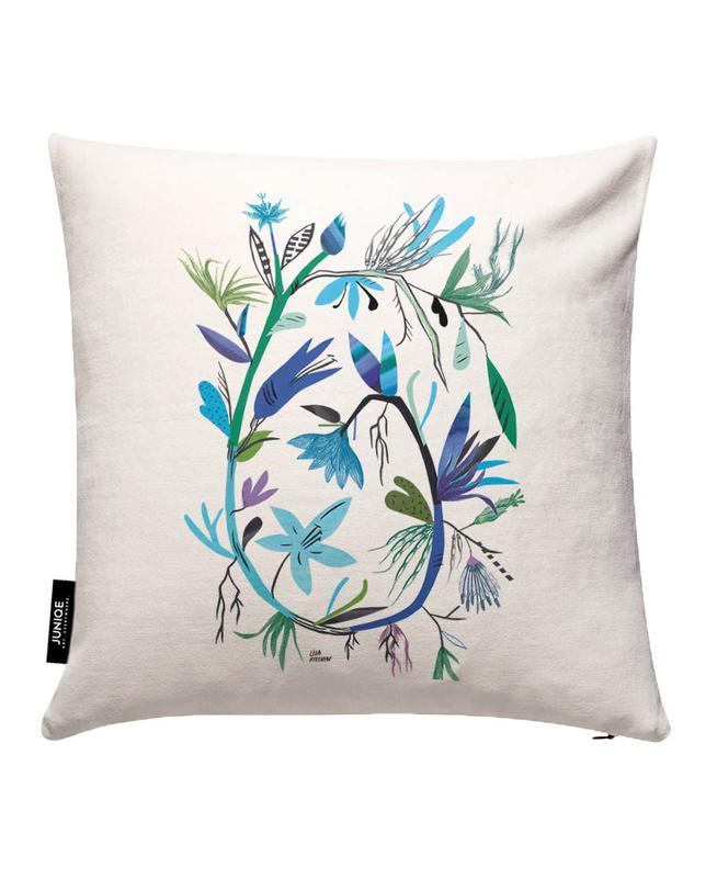 Botanica Orange Cushion Cover