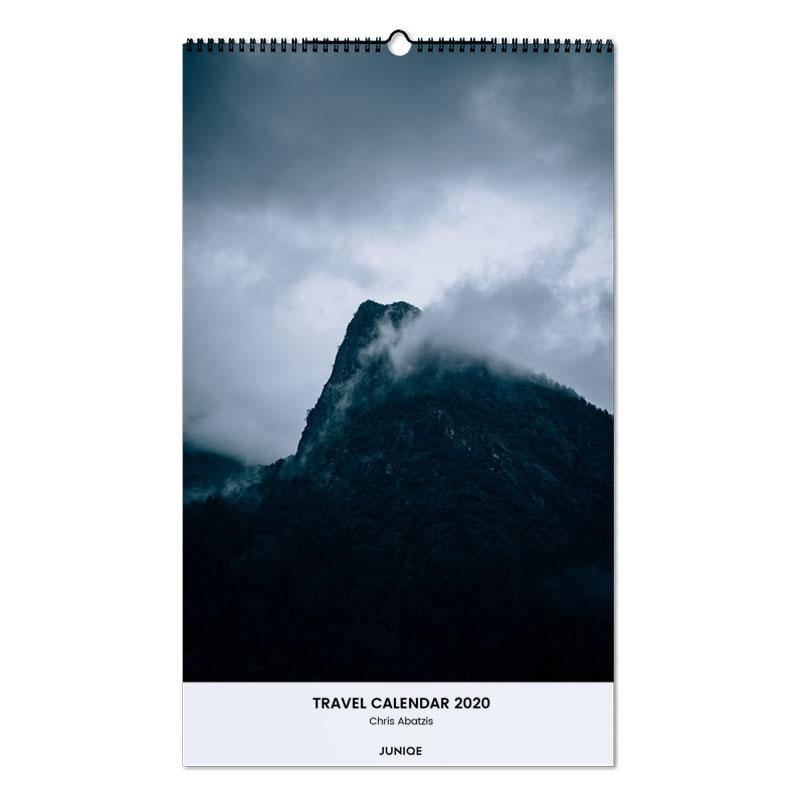 Travel Calendar 2020 - Chris Abatzis Wall Calendar