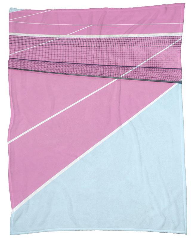 Pink Court - Net -Fleecedecke