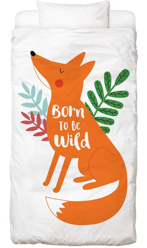 Born to Be Wild Fox Linge de lit
