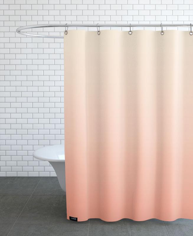 Peachy Peach Shower Curtain