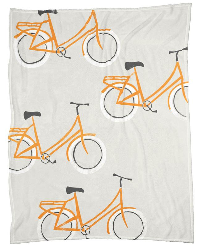 Omafiets Fleece Blanket