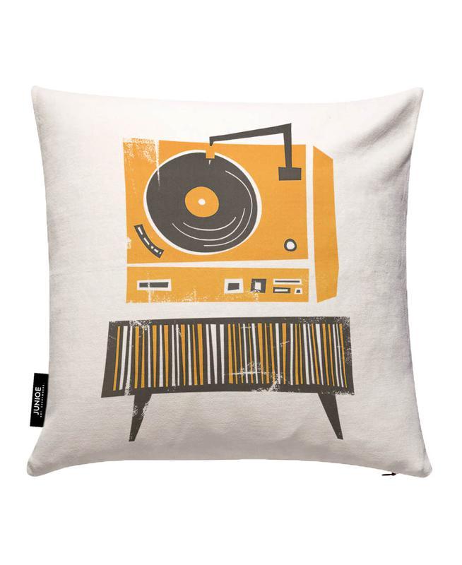 Vinyl Junkie Cushion Cover