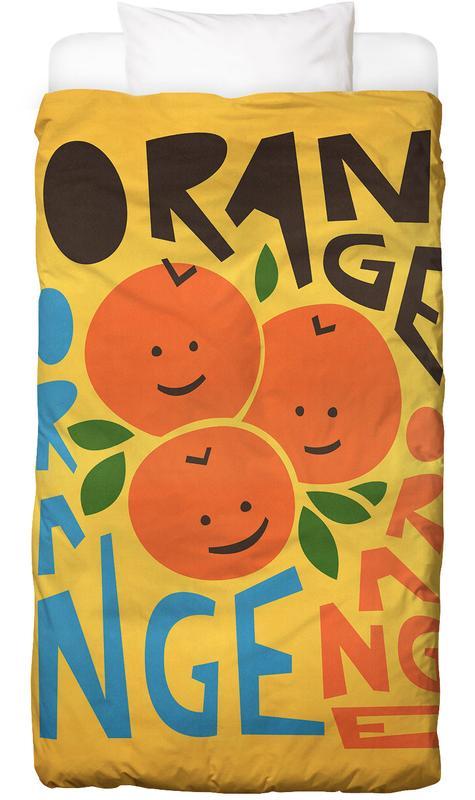 Orange Orange Bed Linen