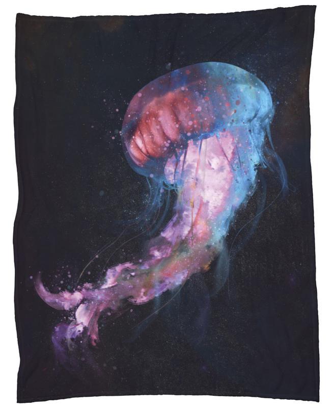 Space Jelly Fleece Blanket