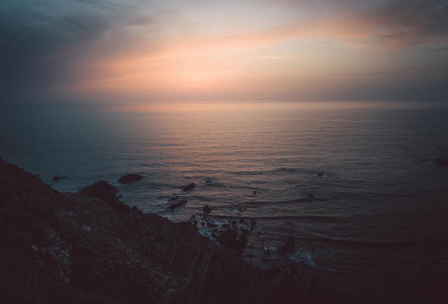Taste of Sea Sunset Acrylic Print