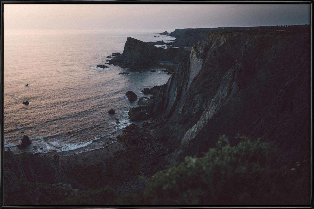 Taste of Sea Sunset II Framed Poster