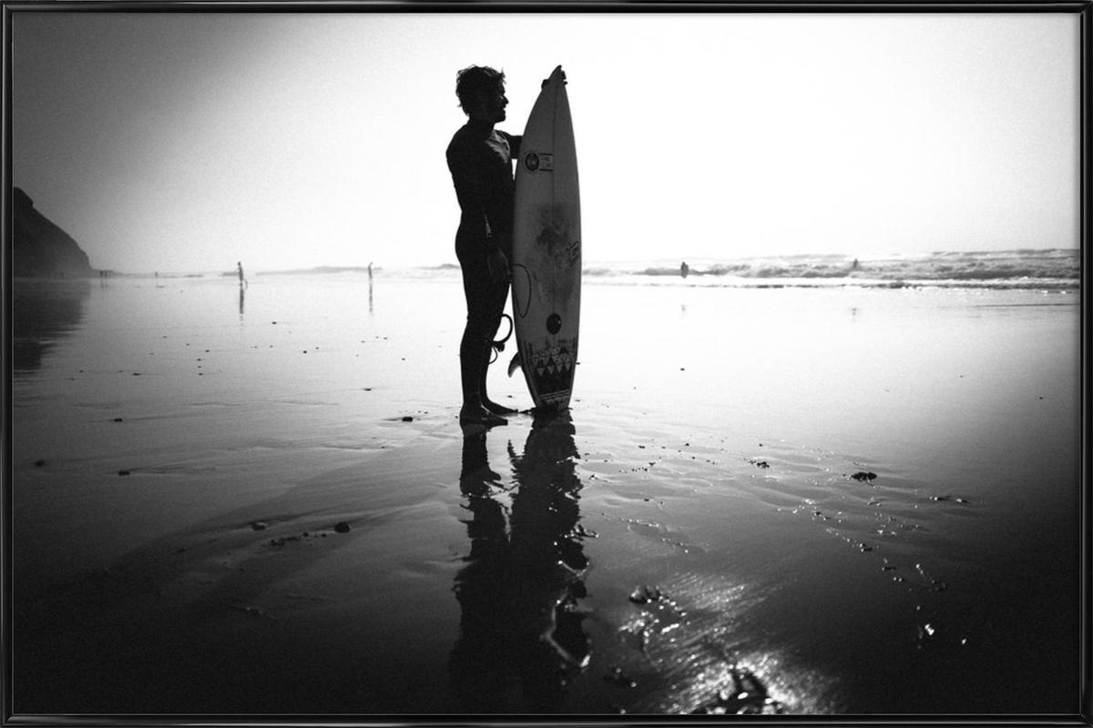 Off for a Surf II Framed Poster