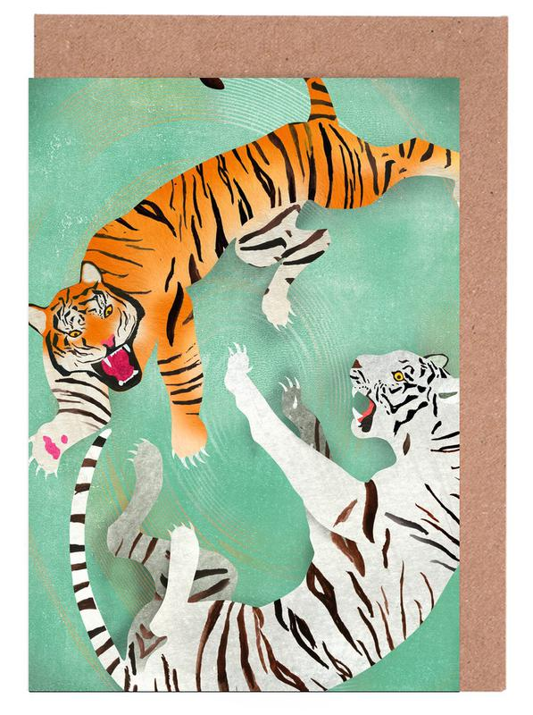 Tigers Greeting Card Set