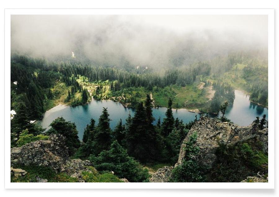 Rainier Eunice Lake -Poster