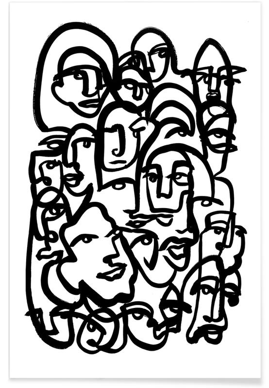 Face Merge -Poster
