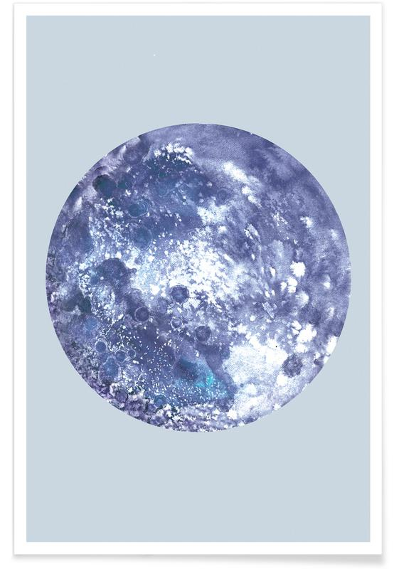 Earth blue -Poster