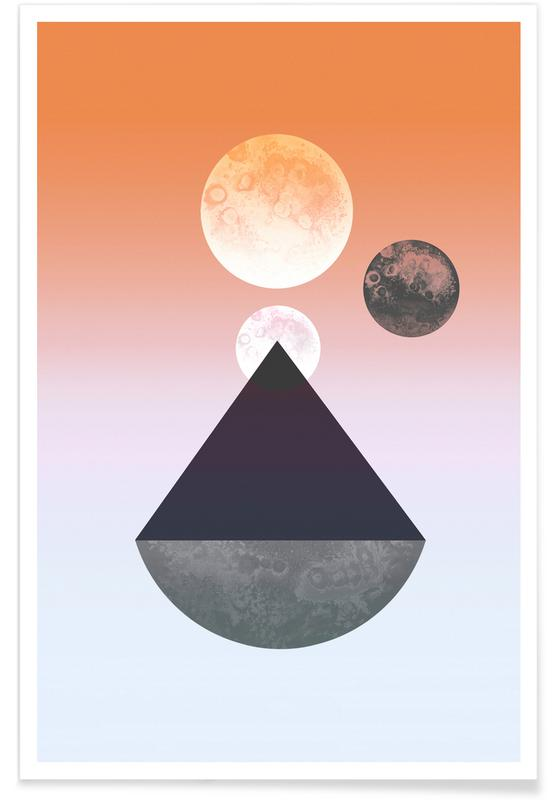 Moon Triangle -Poster
