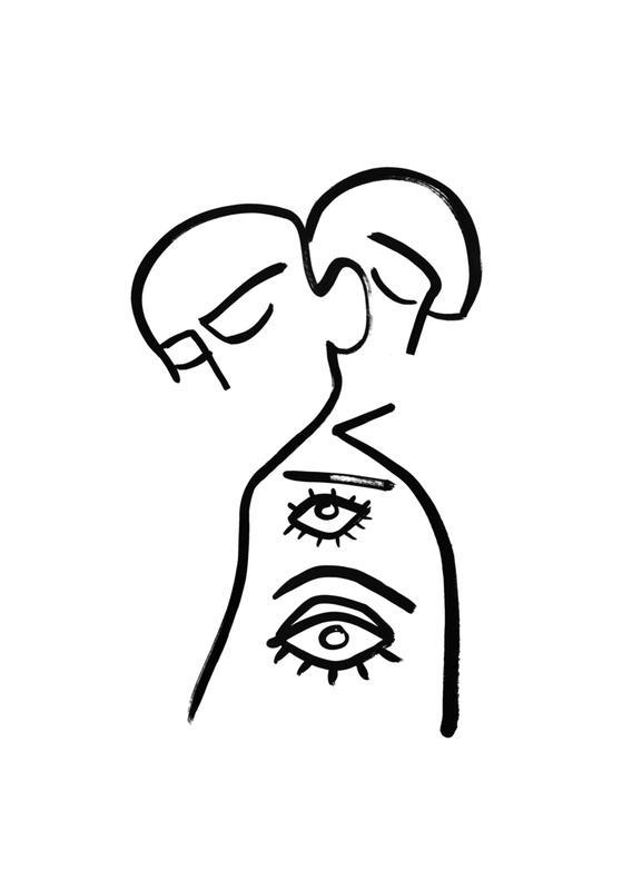 Eye Want You -Leinwandbild