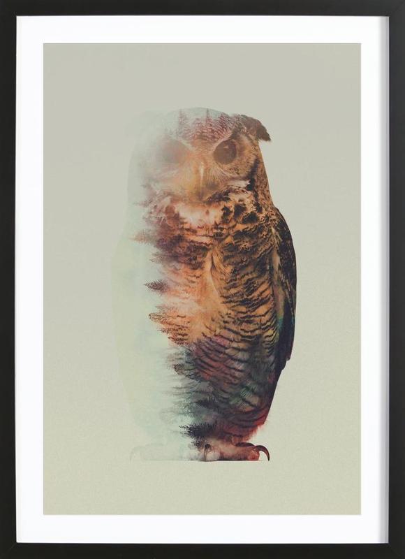 Norwegian Woods: The Owl Framed Print