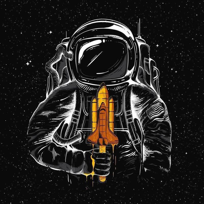 Space Popsicles Canvas Print