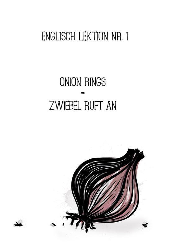 Onion -Acrylglasbild