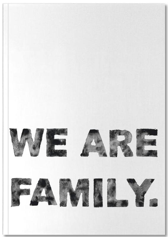 We Are Family Notebook