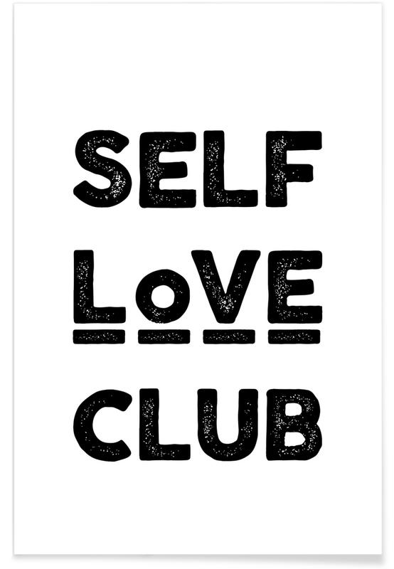 Peace Selflove Club -Poster