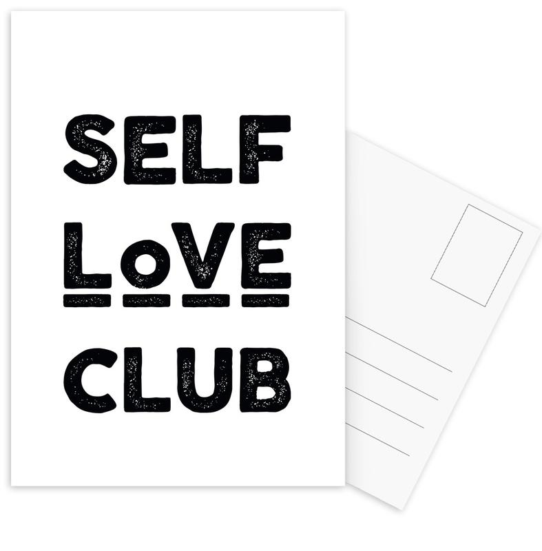 Peace Selflove Club cartes postales