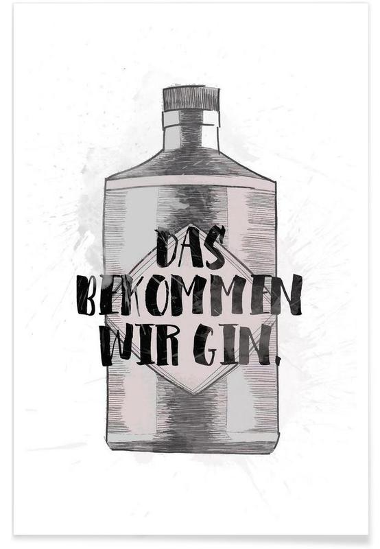 Gin Poster