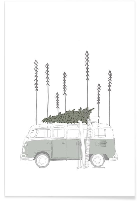 Winter Van poster