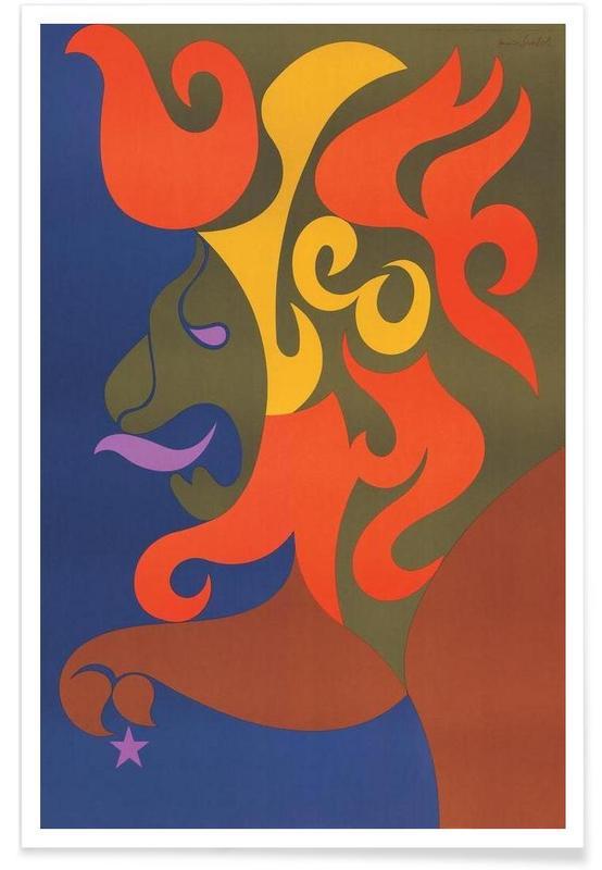 Vintage Leo Poster
