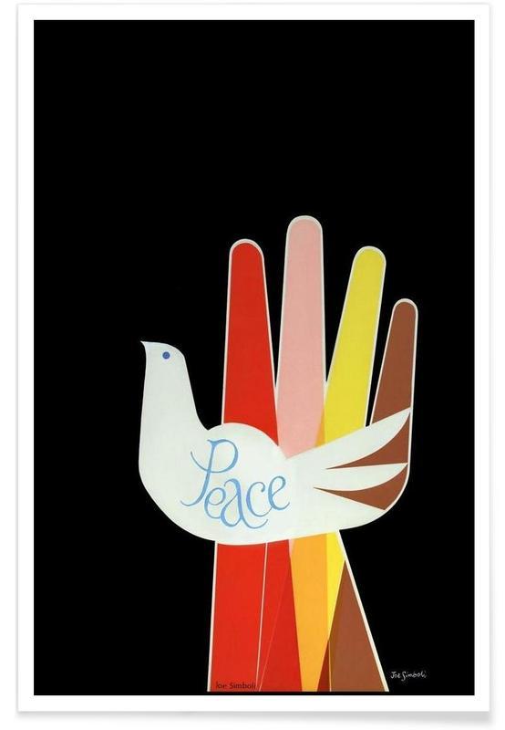 Vintage Peace Poster