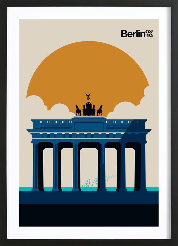 Fin Berlin Jubilee 89 19 Framed Print