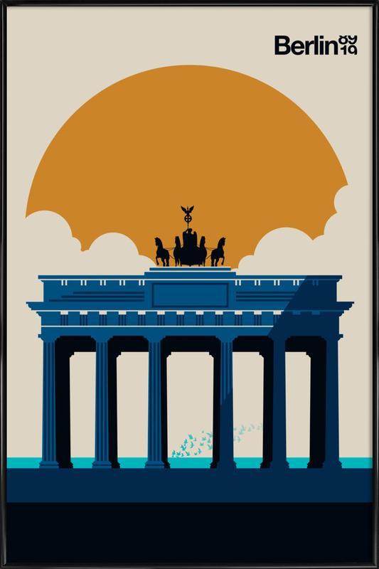 Fin Berlin Jubilee 89 19 Framed Poster