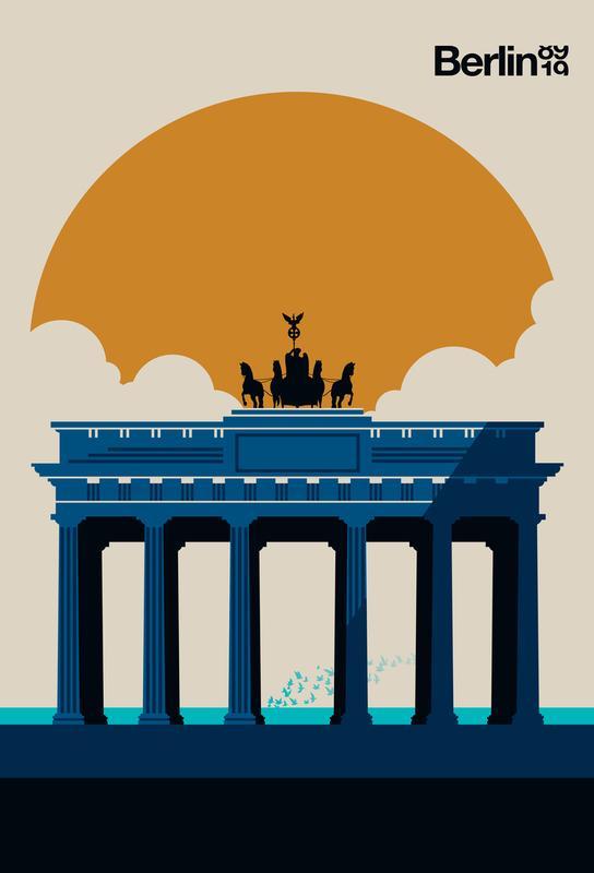 Fin Berlin Jubilee 89 19 Aluminium Print