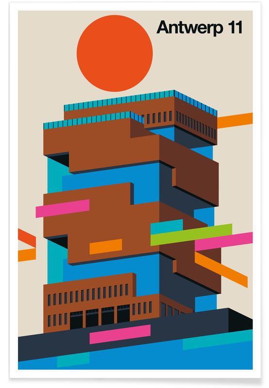 Antwerp 11 -Poster