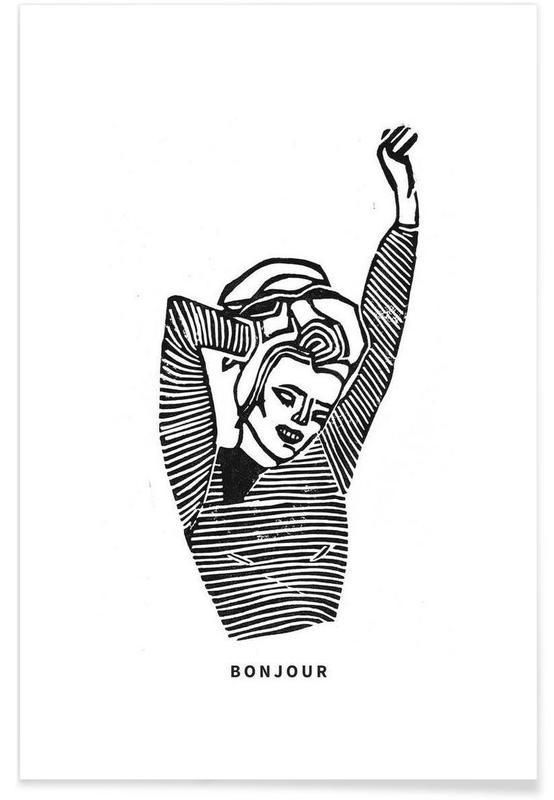 Bonjour -Poster