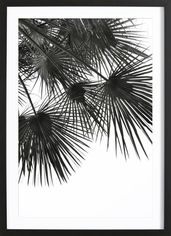 Endless Summer - Wind -Bild mit Holzrahmen