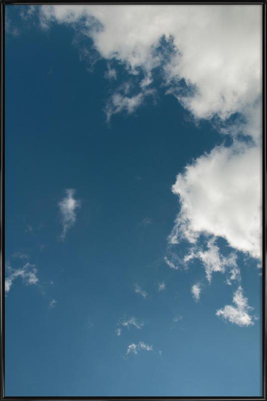 Sky Diving ingelijste poster
