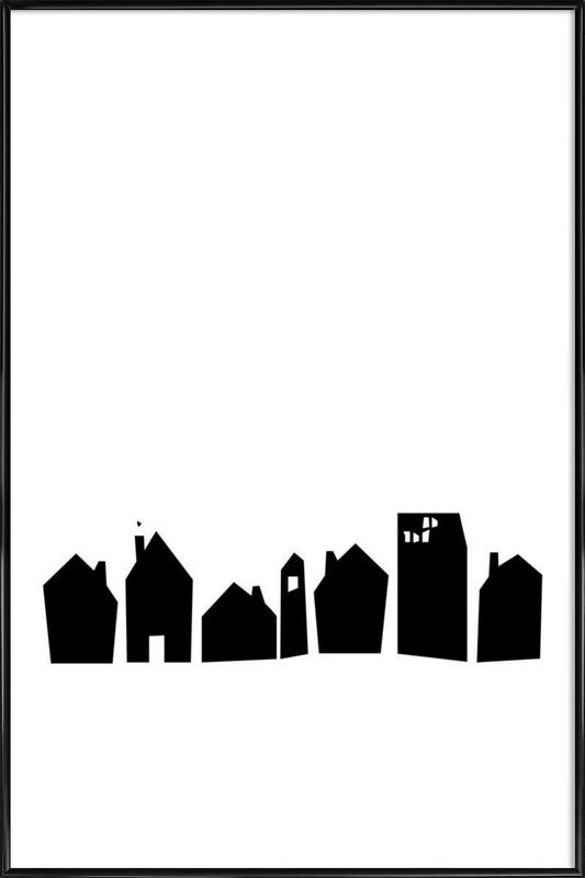 No Place Like Home Framed Poster