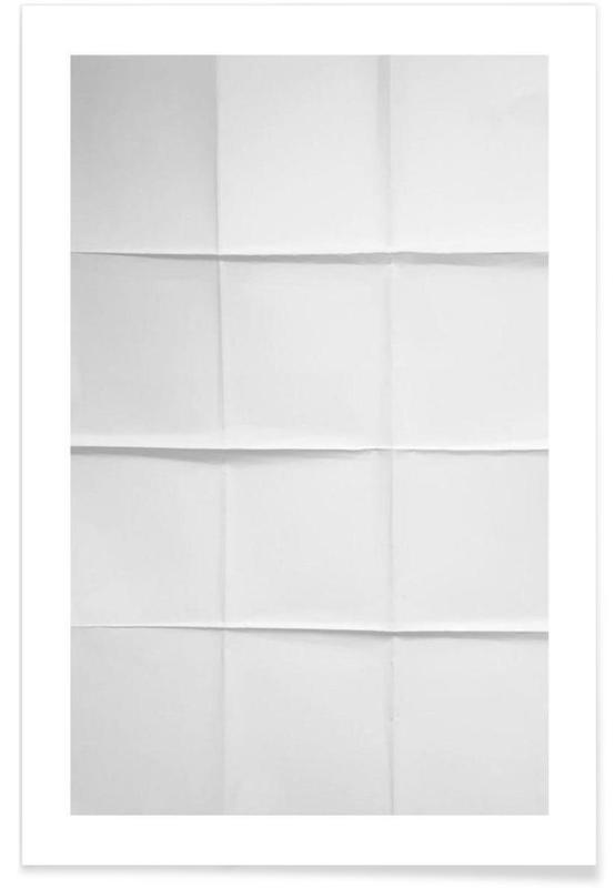 Paper Grid -Poster
