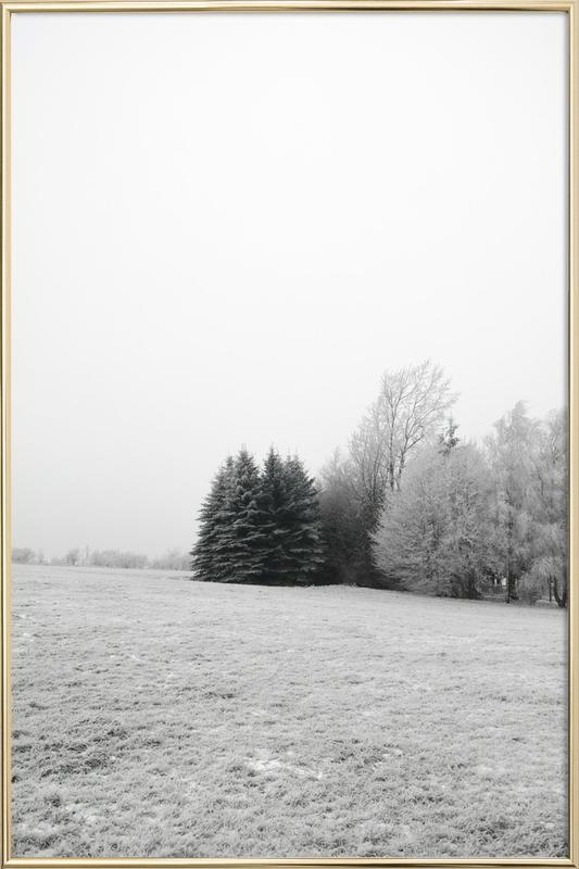Winter Wonderland Poster in Aluminium Frame
