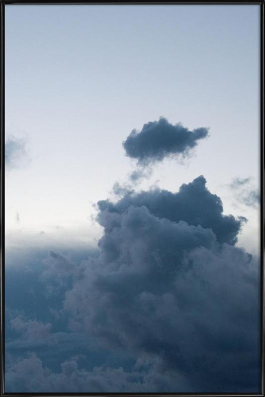 Above 1/2 -Bild mit Kunststoffrahmen