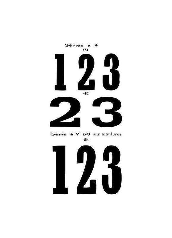 123 -Leinwandbild