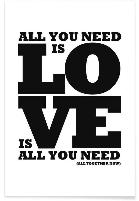 All you need is love affiche