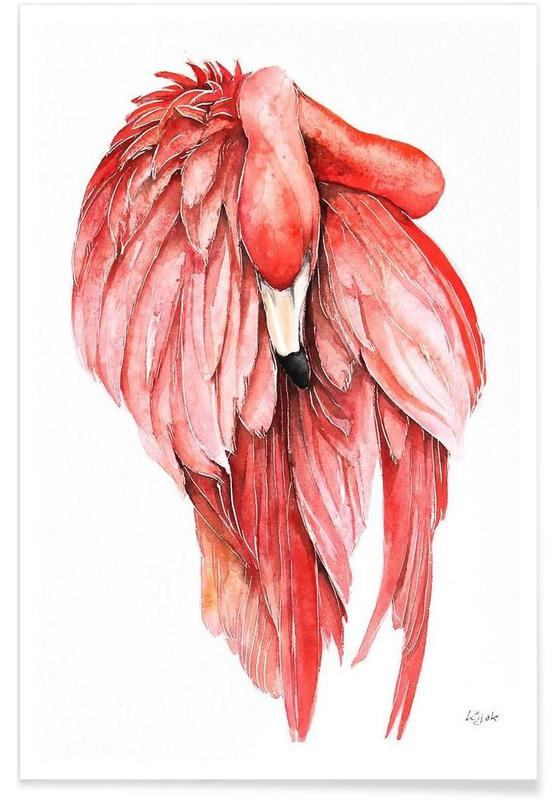 Pink Flamingo 2 Poster