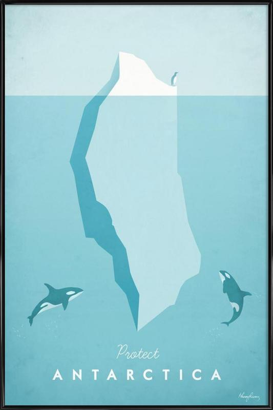 Antarctica affiche encadrée
