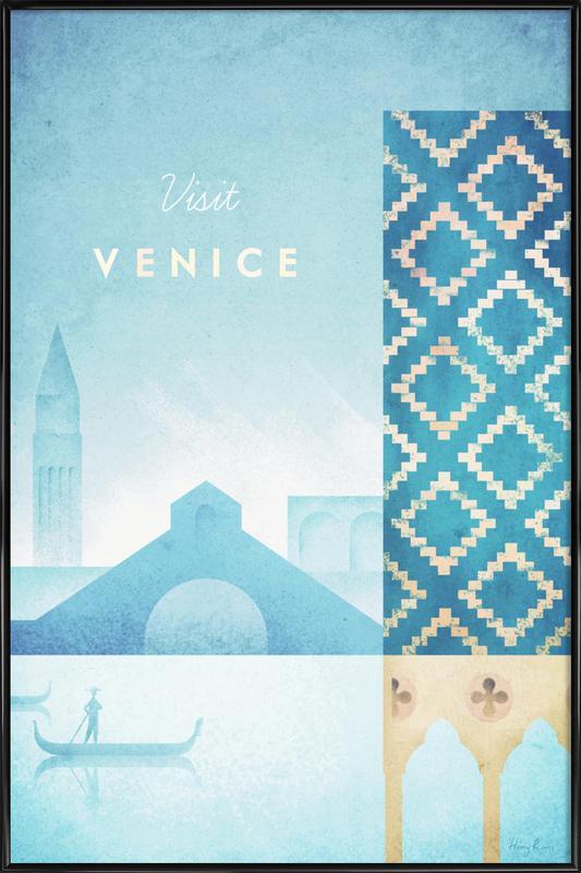 Venice affiche encadrée