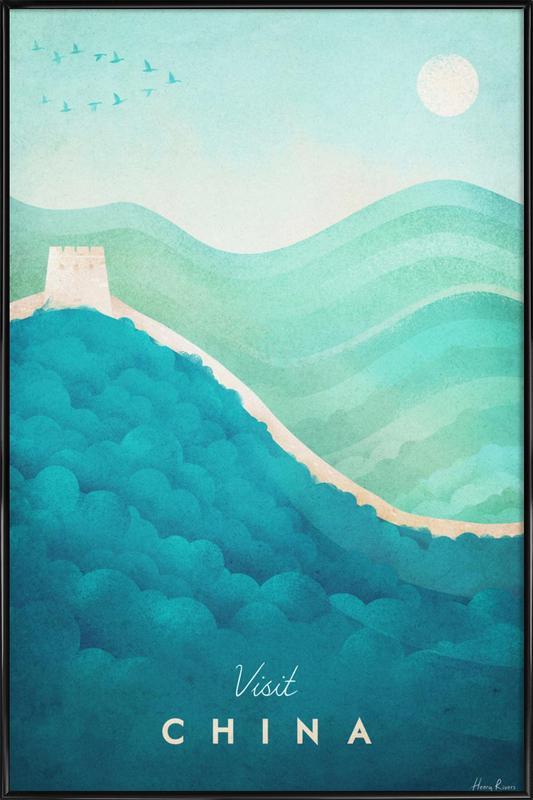 China Framed Poster