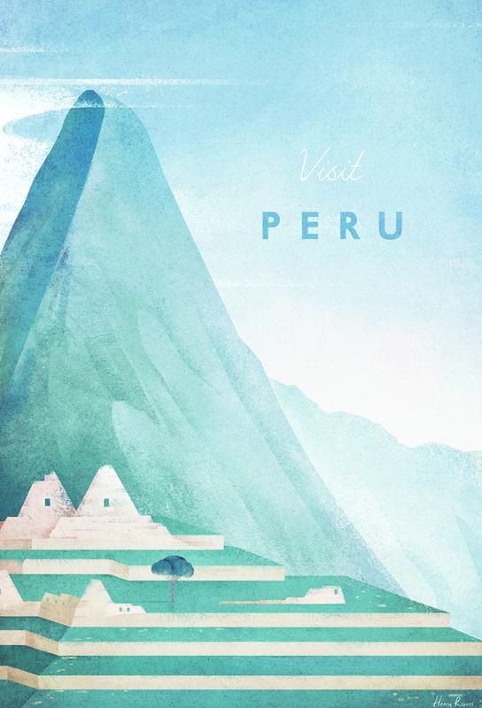 Peru -Acrylglasbild