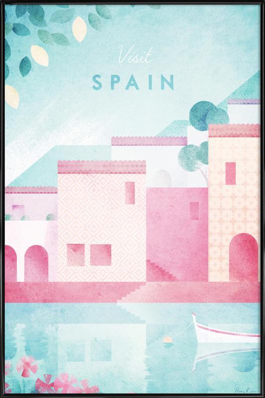 Spain -Bild mit Kunststoffrahmen