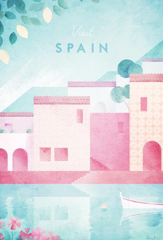 Spain -Acrylglasbild