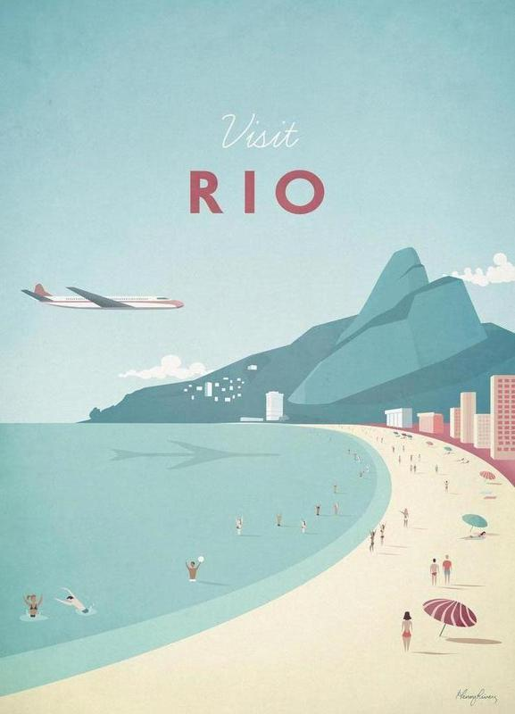 Rio canvas doek